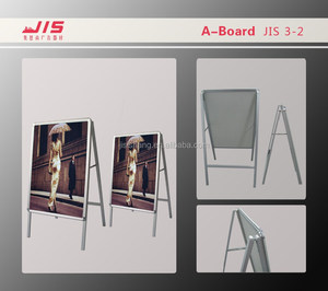 JIS3-2, Advertising exhibition trade show display promotion usage,single size aluminum pavement sign