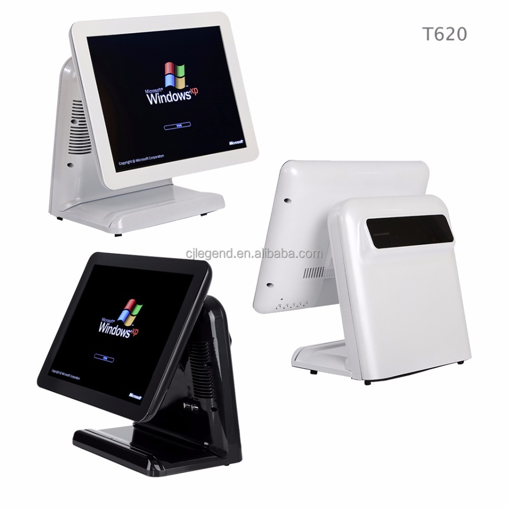 15 inch all in one touch screen tablet pos terminal PC windows 10/7