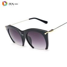 Značkové sluneční brýle s ukrojenými skly