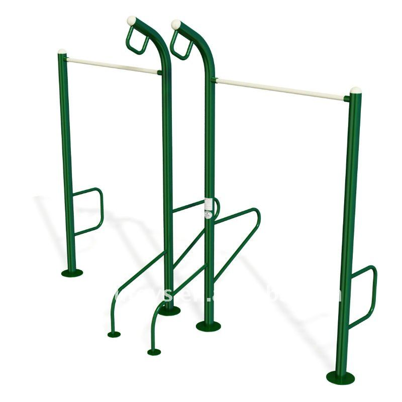 2017 Uneven Pull Up Bars Fitness Equipment Outdoor