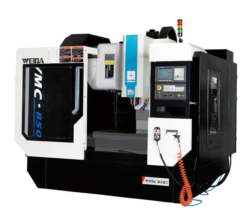 4 Axis CNC Freesmachine VMC 850 CNC Verticale Bewerkingscentrum