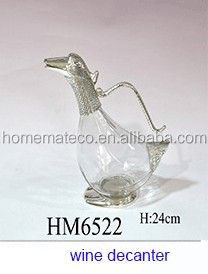 zinc alloy swan style fork holder spoon holder