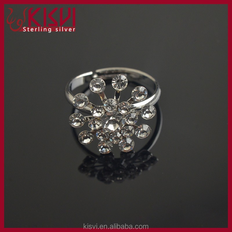 silver jewelry 925 wedding rings factory new model with low price