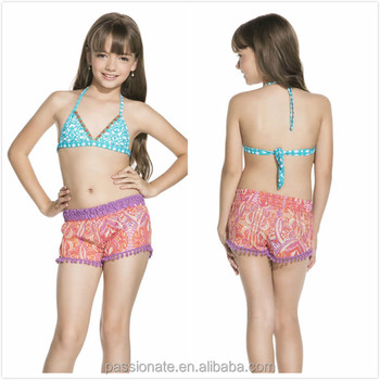 Children Swimware Kids Sexy Bikinis Child Cute Swimsuit