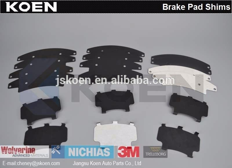 Supply Brake Pad Shims FMSI D1695-7697 0446537272 AK NS265 FF Use For HINO