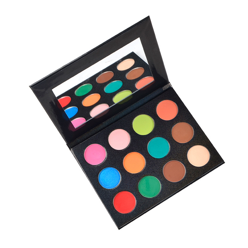 OEM/ODM custom eyeshadow palette high pigment vendors eyeshadow <strong>makeup</strong> free <strong>sample</strong>.