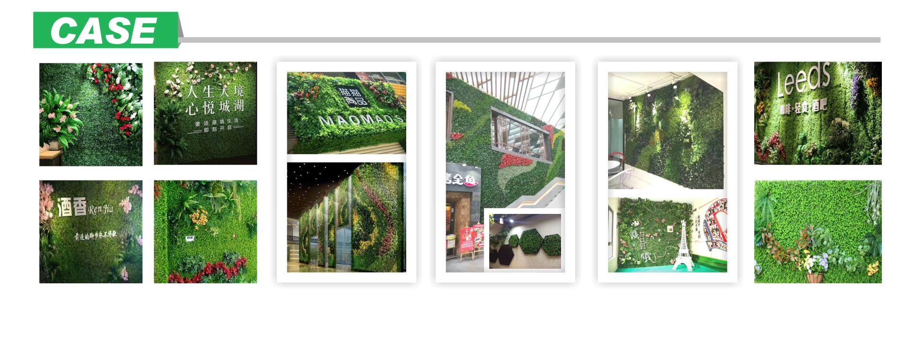 Offre Spéciale mur de plantes artificielles/salon mur vert pour terrasse et jardin