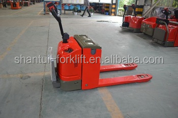 cheapest price semi-electric pallet forklift