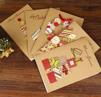 Christmas Greeting Cards Handmade.Kraft Paper Handmade Creative Christmas Card Christmas Greeting Card Buy Christmas Card Creative Christmas Card Handmade Creative Christmas Card
