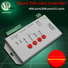 RGB/full color led controller programable led matrix controller led dmx controller