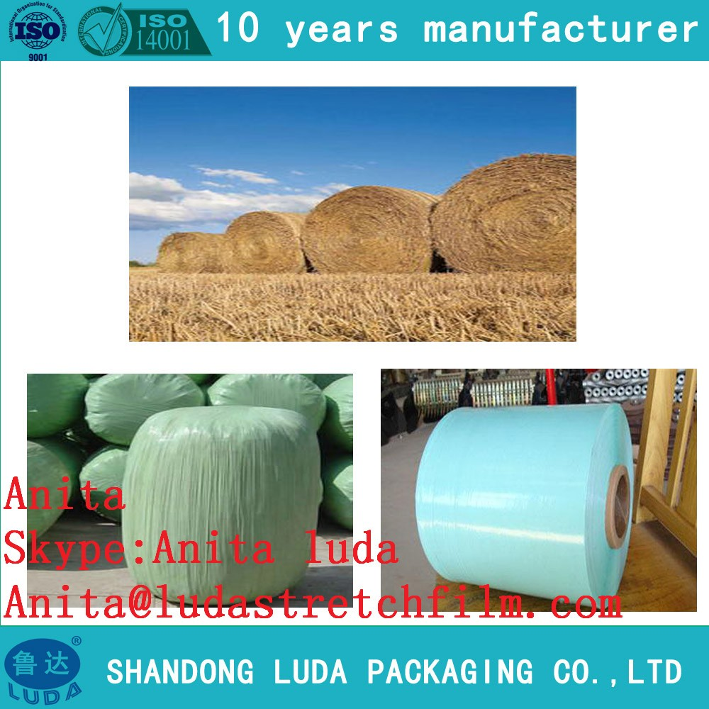 Packing Material 750mm Wide Sialge Wrapping ldpe agricultural film scrap