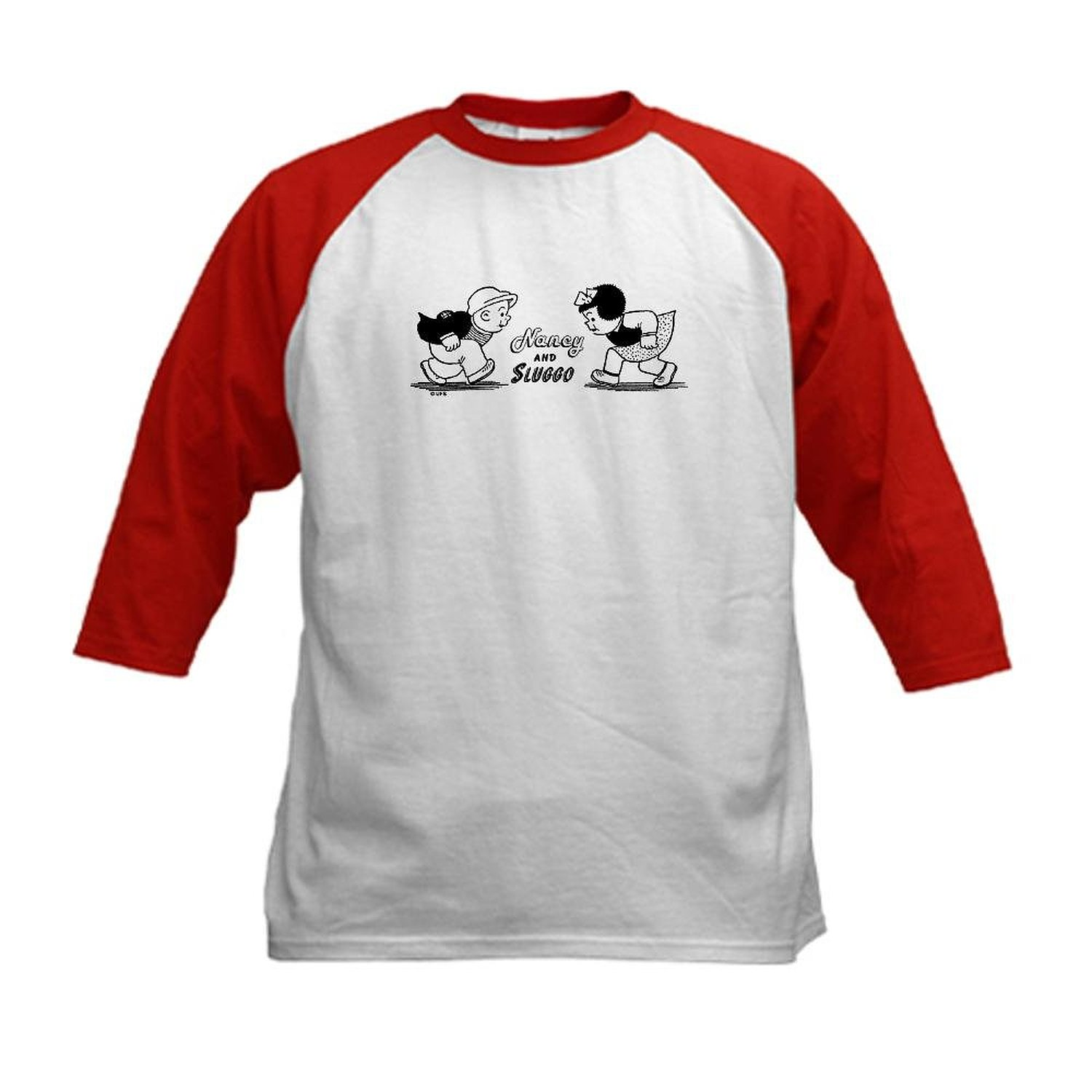Get Quotations · CafePress Kids Baseball Jersey - Nancy and Sluggo Head to  Head Kids Baseball Jersey 77bfde5eca36