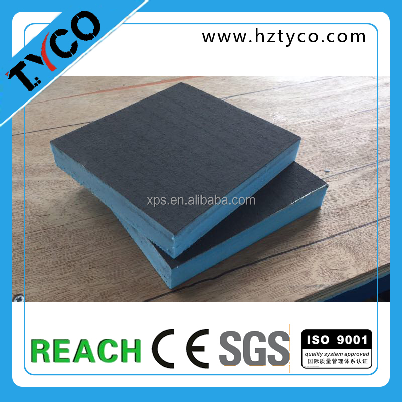 10mm 20mm XPS core board with aluminum foil covered mortar paper good heat insulation board