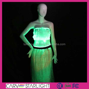 2016 fashion glow in the dark stage magic show performance costumes