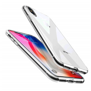 0.5MM-1MM Clear Soft TPU Phone Case For Apple iPhone X XR XS Max 6 6s 7 8 plus Back Cover