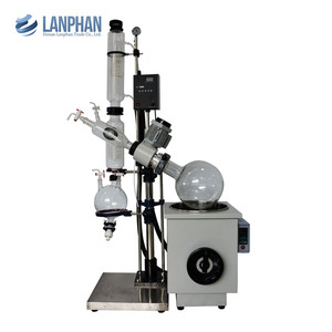 New Complete 20L Vacuum Rotary Evaporator Machine for Essential Oil Extraction