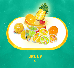 Assorted fruit flavor jelly drink with toy