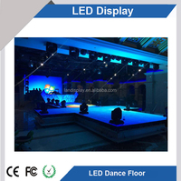 P5.2 PC Material Competitive LED DANCE FLOOR Digital Display With sensor shenzhen supplier