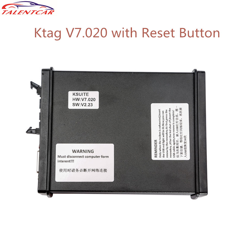 2017 Latest V2.23 KTAG ECU Programming Tool Master Version Firmware V7.020 with Unlimited Token K TAG K-TAG 7.020 Master Tuning