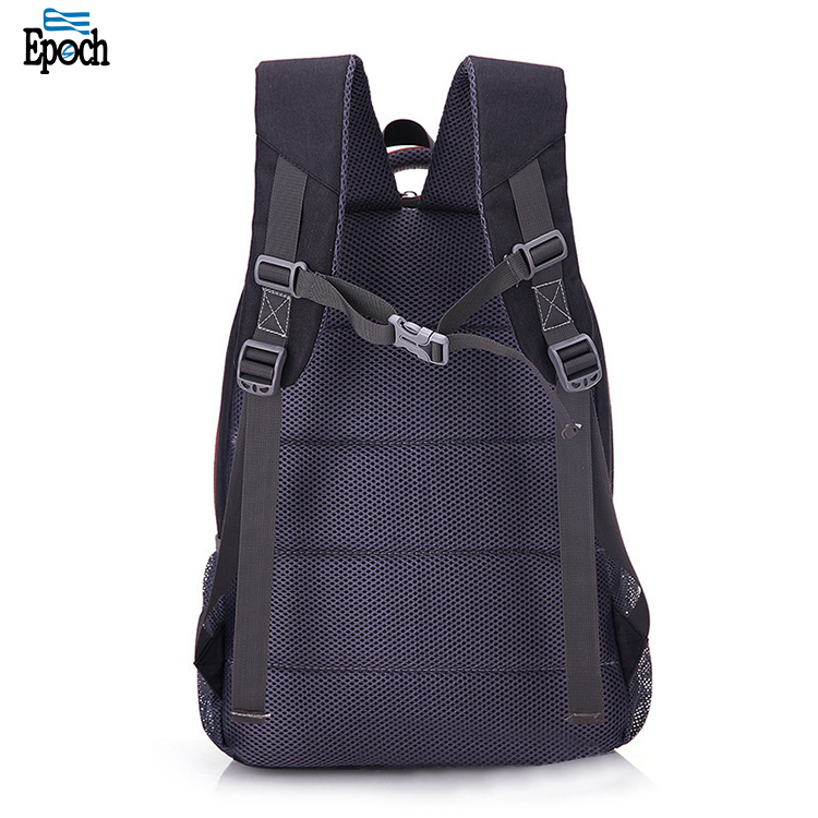 Breathable polyester USB Solar charger backpack Bags with USB charger port