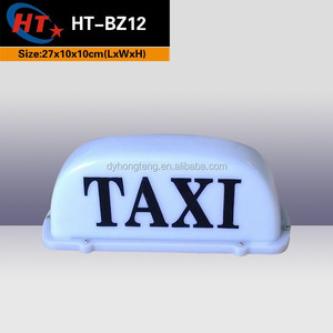 Auto accessories lighted taxi car top lamps