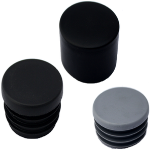 Fence Gate Posts 90mm Plastic End Caps for Round Tubes Pipes