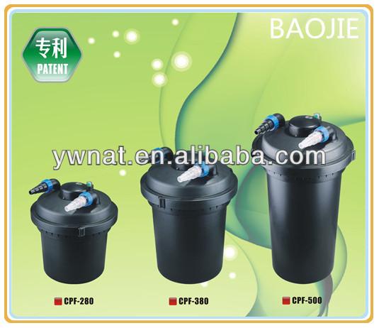 El m s nuevo dise o koi estanque de filtro estanque bio for Filtro estanque koi