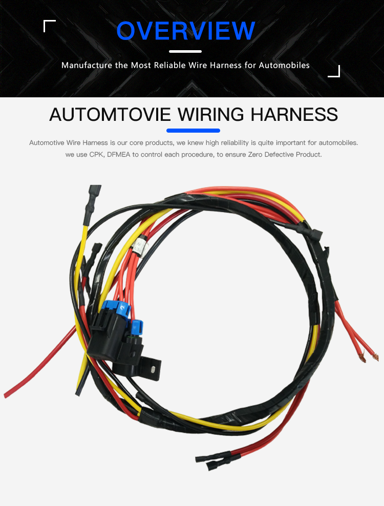 custom bus wire harness bus cable assembly