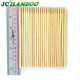 Small Plastic Packing Disposable Bamboo Skewer With Colorful Logo