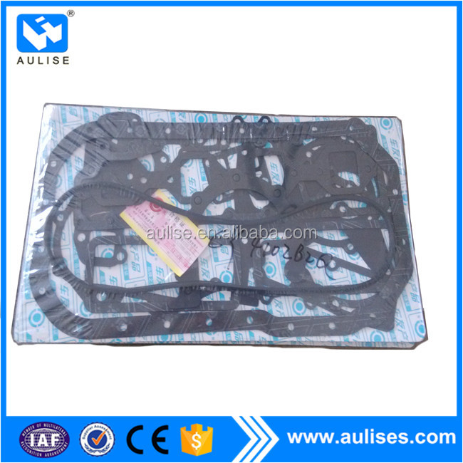 chaochai engine gasket kit CY4102BZQ JAC HFC1061 truck spare parts, JAC auto parts