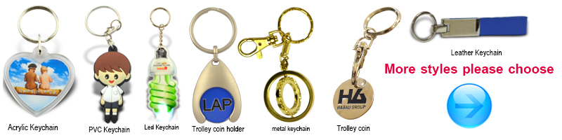 Promotional key chain Wholesale Fashion Cheap Custom Metal Key Chain