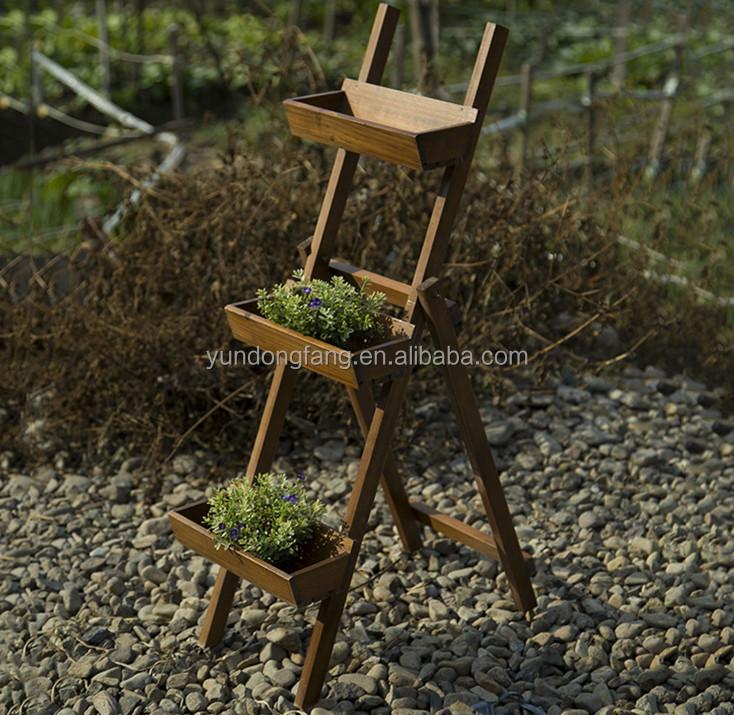 Unique Design Brown Outdoor Wooden Plant Stands Buy
