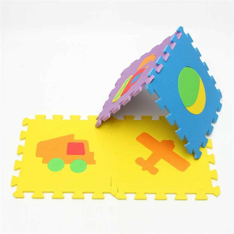 New Arrival 30 30cm 10pcs Set Puzzle Carpet Baby Play Mat Floor Puzzle Mat Eva Children Foam