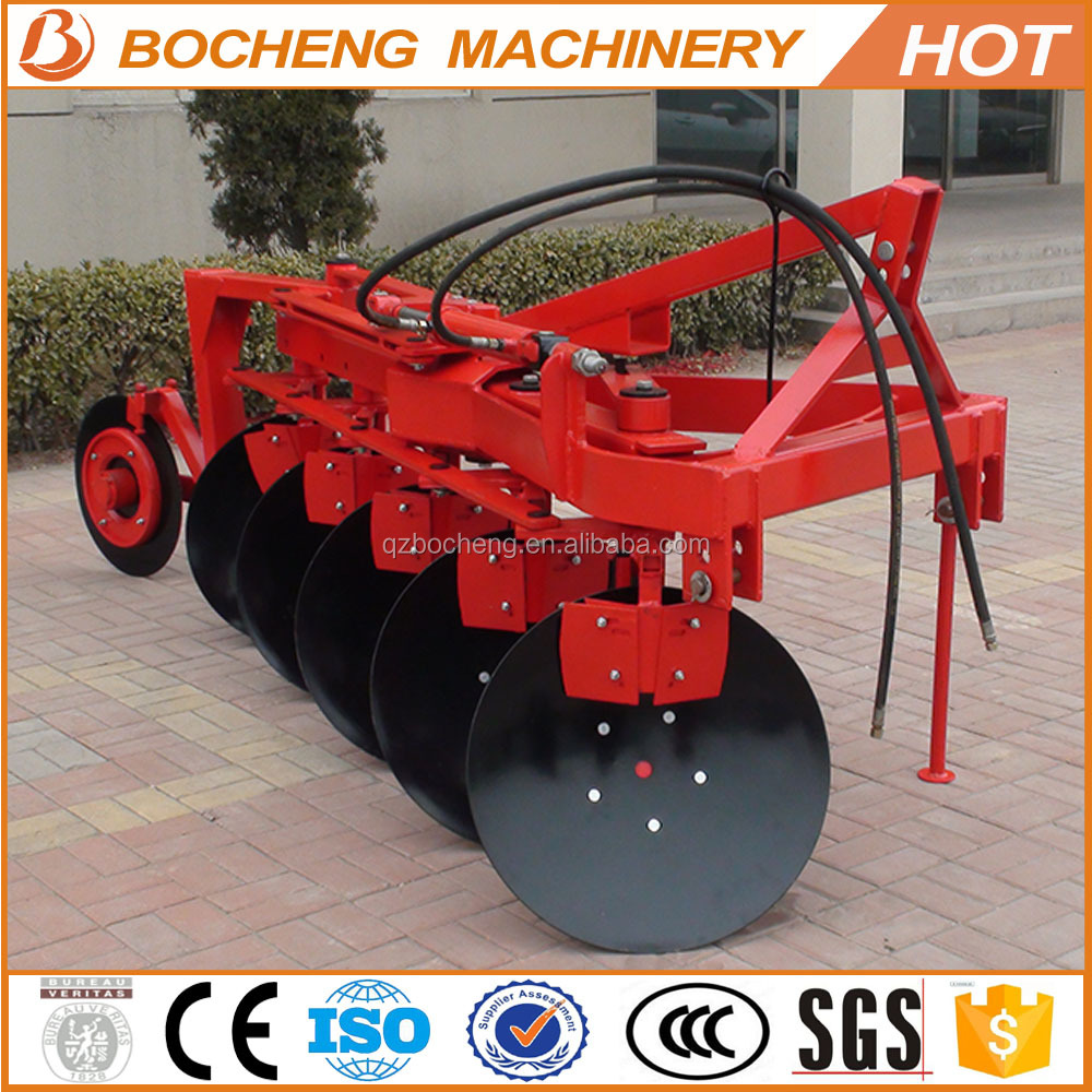 5 furrow hydraulic reversible disc plow for sale