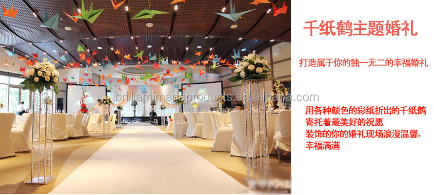 Wholesales Handmade Paper Fold Origami With Different Color For Wedding Decoration Gift Holidays