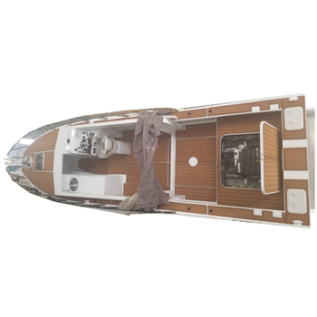 10m aluminum Luxury Speed Fishing Boat for sale