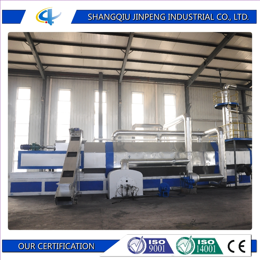 Plastic raw material machinery continuous waste recycling machine