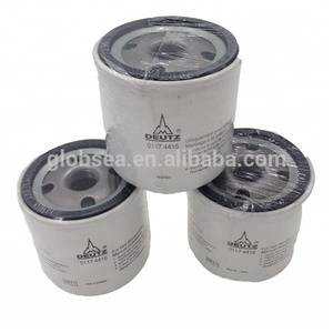 Good quality dalian deutz engine parts oil filter 01174416