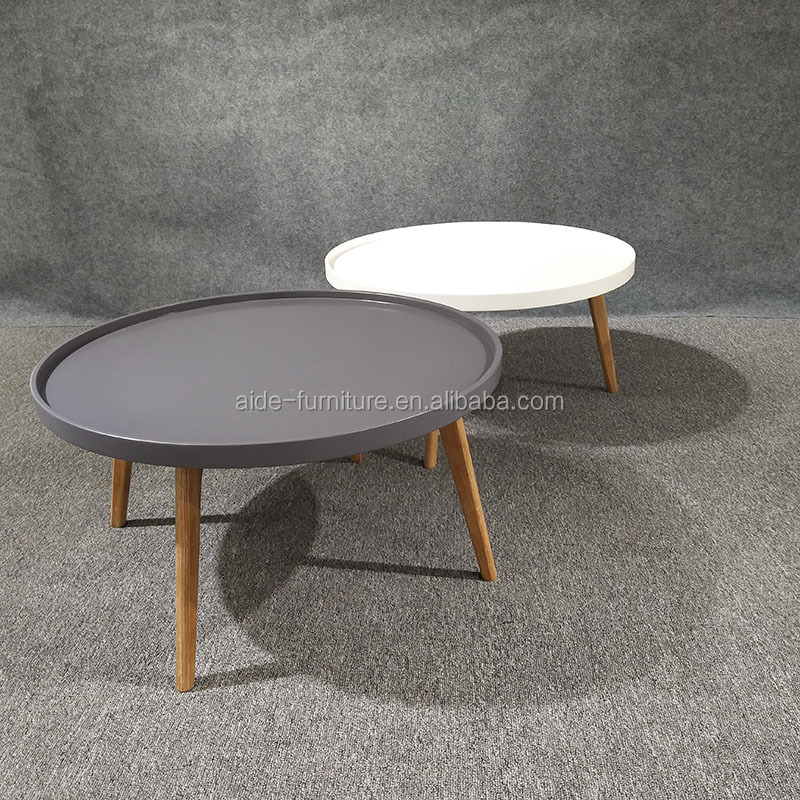 Modern design round coffee table living room coffee table set