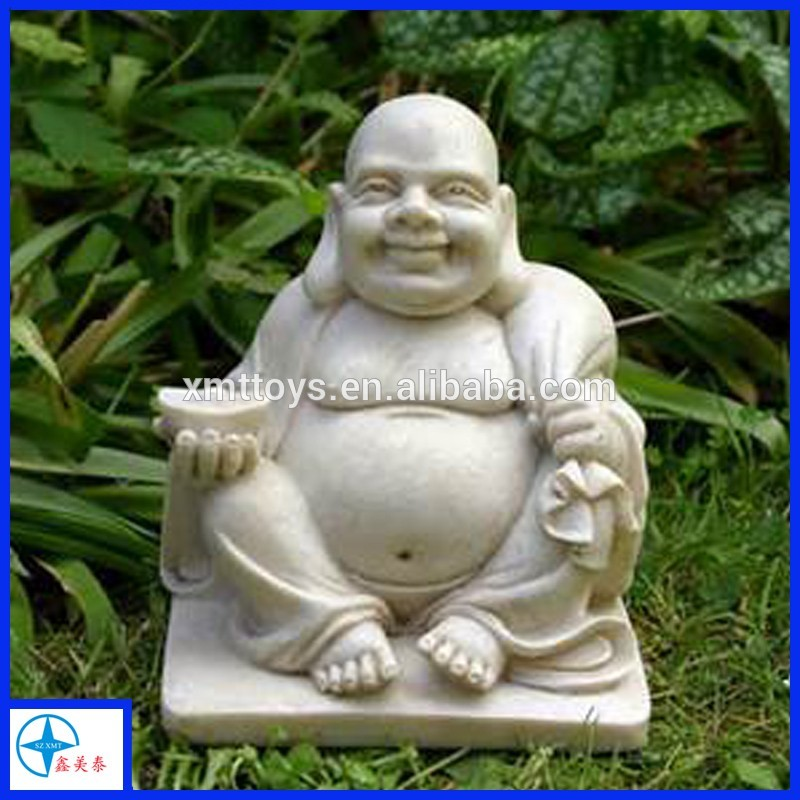chinese resin figurine laughing large buddha statues for sale