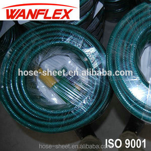 "1/2"" Fiber reinforced pvc water garden hose assembly"