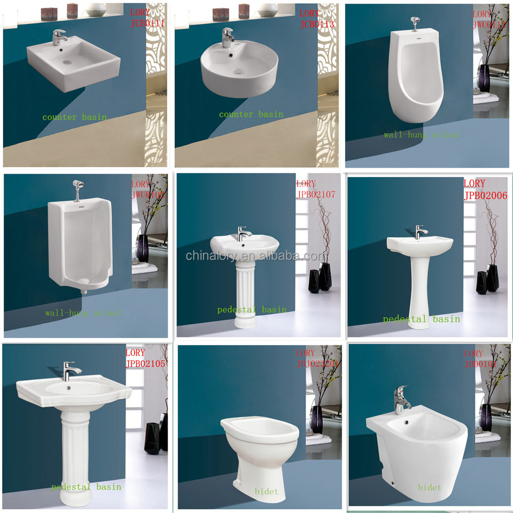 Sanitary Ware Ceramic Toilet Combined Electric Bidet White