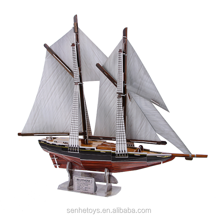 Puzzle the famous ship 3D Cosairs Puzzle toys for kids