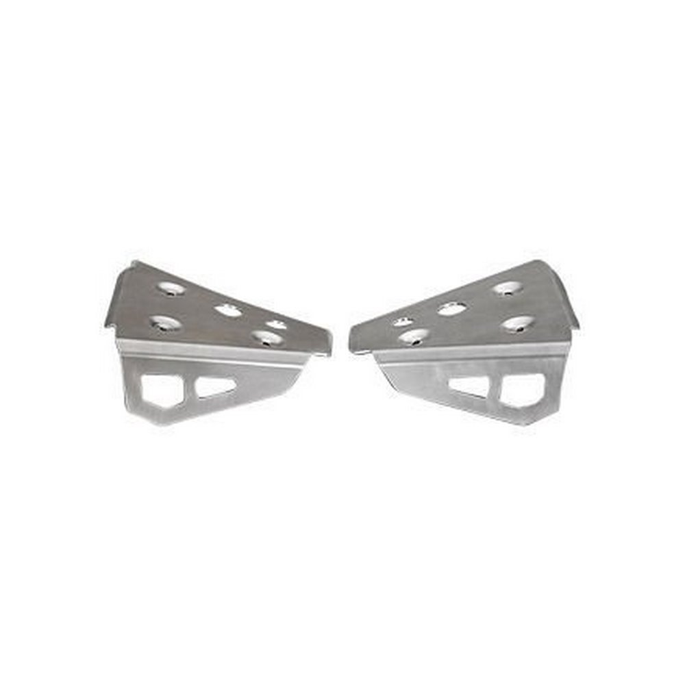 YAMAHA FRONT A-ARM A ARM SKID PLATES GUARDS GRIZZLY 450 350 2009-2014