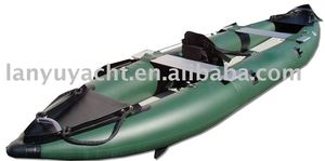 foldable canoes/inflatable pvc rowing kayaks