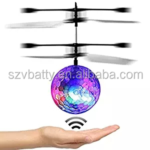 Smart Whirly Ball Crystal Flying Toys LED Flash Lighting Toys