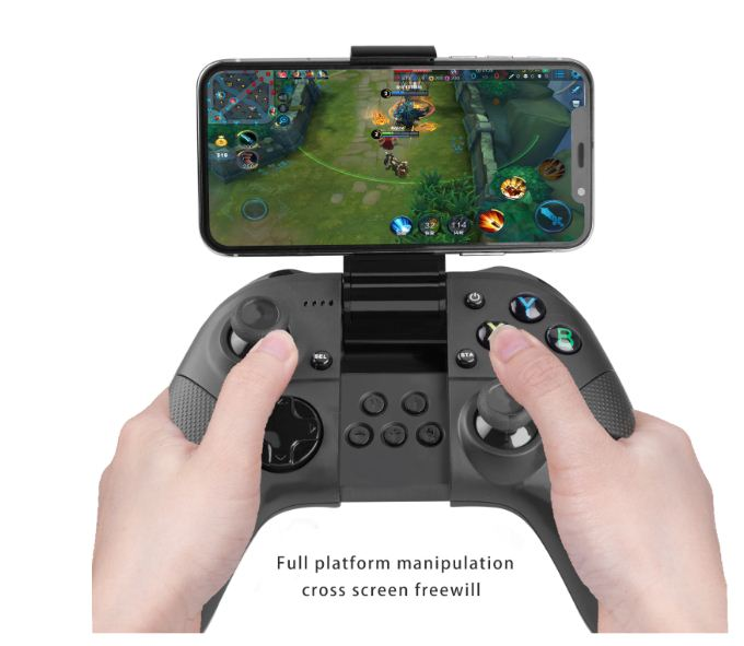 BT Wireless Gamepad Game Controller Gaming Joystick BT Controllers for ISO System and Android Smartphone