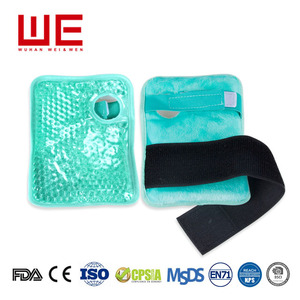 Beauty personal care wrist and ankle body wrap reusable gel pack ice gel pack