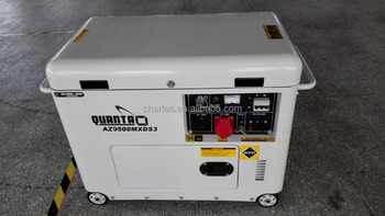 Hot Selling Home Use 7 0kva Silent Type Wihte Color Diesel Generator Az9500mxds3 View White Color Diesel Generator Haomax Product Details From