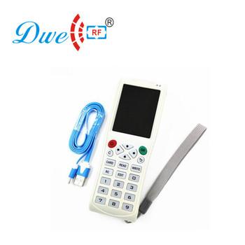 Nfc Handheld Rfid Writer Card Copier Key Duplicator Cloner Em4100 125khz  13 56mhz Frequency - Buy Key Duplicator,Rfid Copier,Rfid Writer Product on